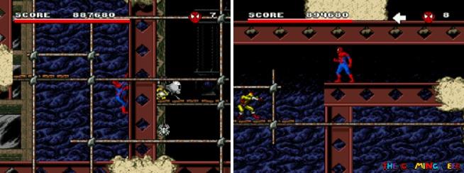 Arcade's Revenge - Spider-Man levels