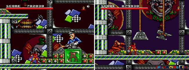 Arcade's Revenge - Wolverine's stages