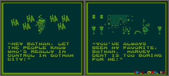 Batman: The Animated Series episode cutscenes