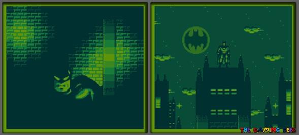 Batman: The Animated Series opening cutscene