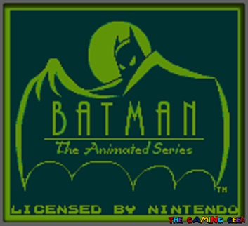 batman: the animated series title screen