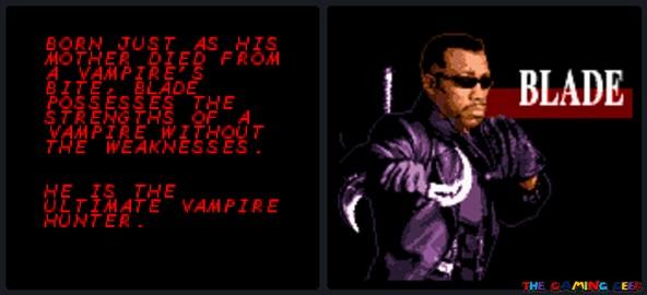 Blade opening cutscene