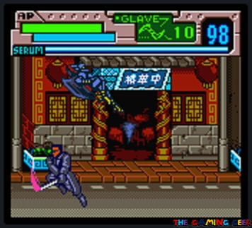 Blade - Sword duel section