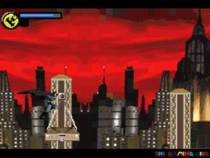 Batman Vengeance cape glide