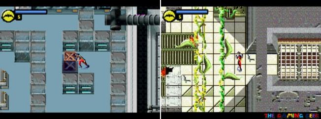 Batman: Vengeance - Robin's stages