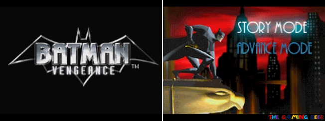 batman vengeance - title screen