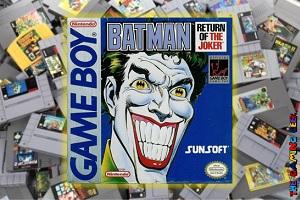 Game Boy Games – Batman: Return of the Joker