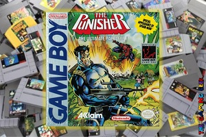 Game Boy Games – The Punisher: The Ultimate Payback