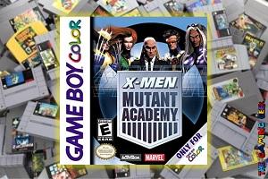 Game Boy Color Games – X-Men: Mutant Academy