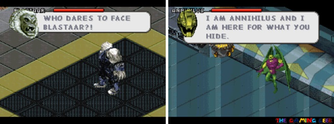 Blastaar and Annihilus