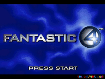 Fantastic Four title screen