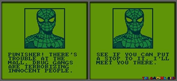 Spider-Man cutscenes