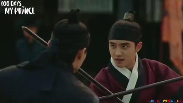 100 Days My Prince - Fight scenes