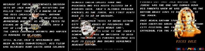 Batman: The Video Game long intro