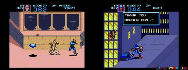Quicksilver and Wonder Man