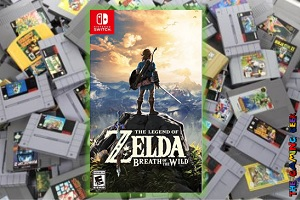 Nintendo Switch Games – The Legend of Zelda: Breath of the Wild