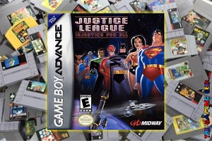 Game Boy Advance Games – Justice League: Injustice For All