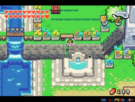 The Minish Cap - Small Link