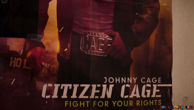 Mortal Kombat - Johnny Cage teaser