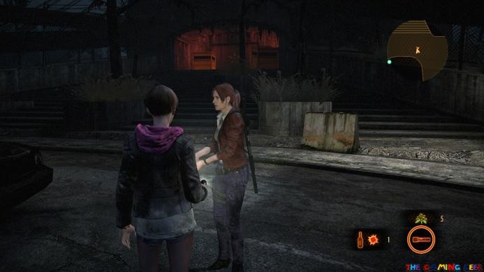 Resident Evil Revelations 2 co-op system