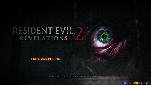 Resident Evil Revelations 2 Title screen