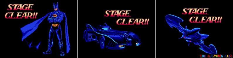 Batman: Return of the Joker stage clear