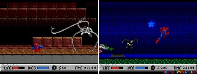 Spider-Man vs The Kingpin bosses