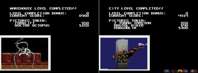 Spider-Man vs The Kingpin taking photos
