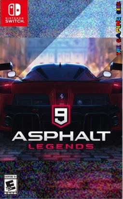 Asphalt 9 Legends custom box art