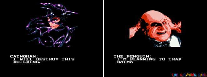 Batman Returns - cutscenes