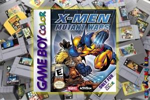 Game Boy Color Games – X-Men: Mutant Wars