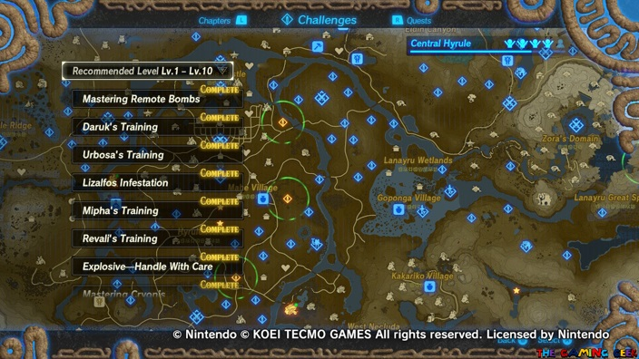 Age of Calamity Challenges