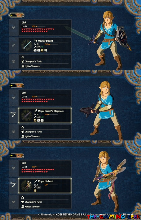 Link's Fighting Styles