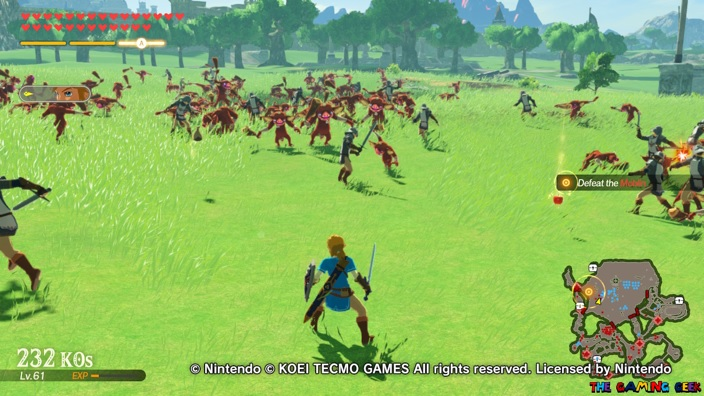 Age of Calamity - battles