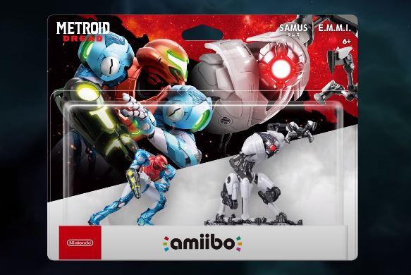 new Metroid Amiibo
