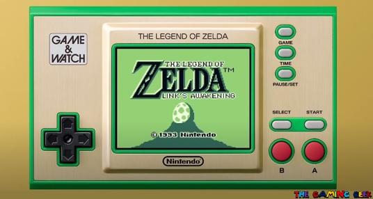 Nintendo Direct - Legend of Zelda Game and Watch