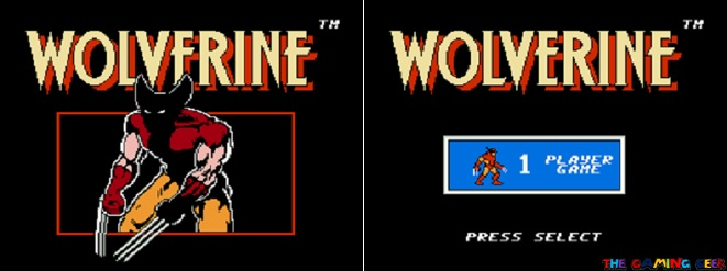 wolverine title screen