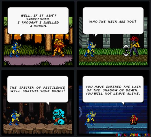 X-Men: Mutant Wars - Bosses