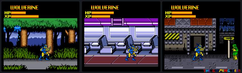 X-Men: Mutant Wars - Entrances
