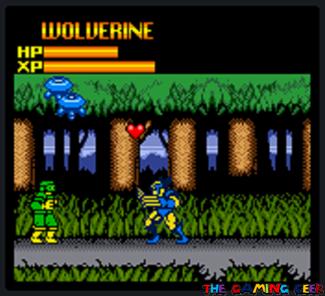 X-Men: Mutant Wars - Heart power up