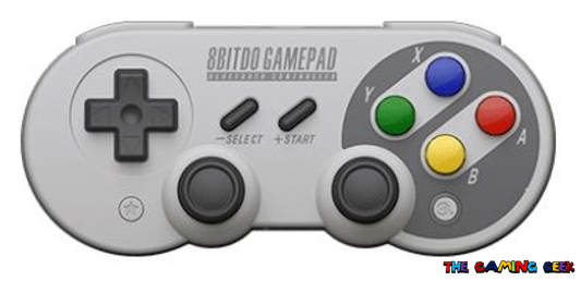 8bitdo sf30 pro - front view