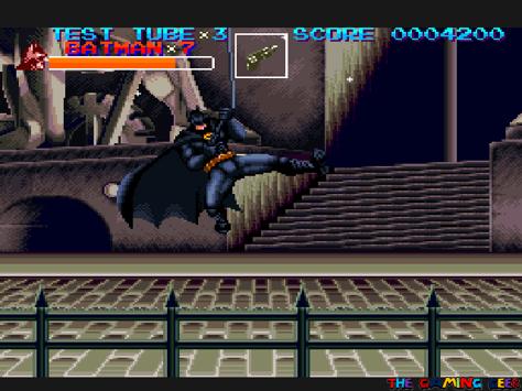 Batman's Grappling Hook kick
