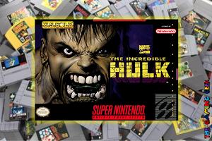 SNES Games – The Incredible Hulk