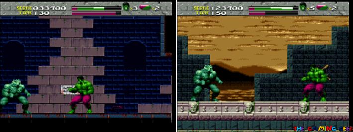 The Incredible Hulk vs the Abomination