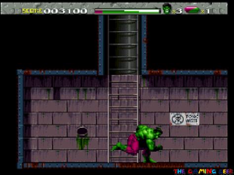 Hulk's running charge