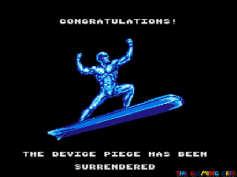 Silver Surfer Victory Pose