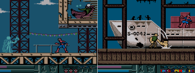 Mysterio and Sandman