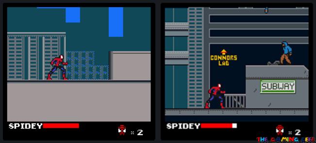 Spider-Man - City area