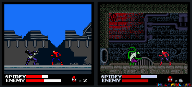 Venom and Lizard