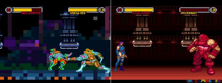 VS Omega Red and Juggernaut